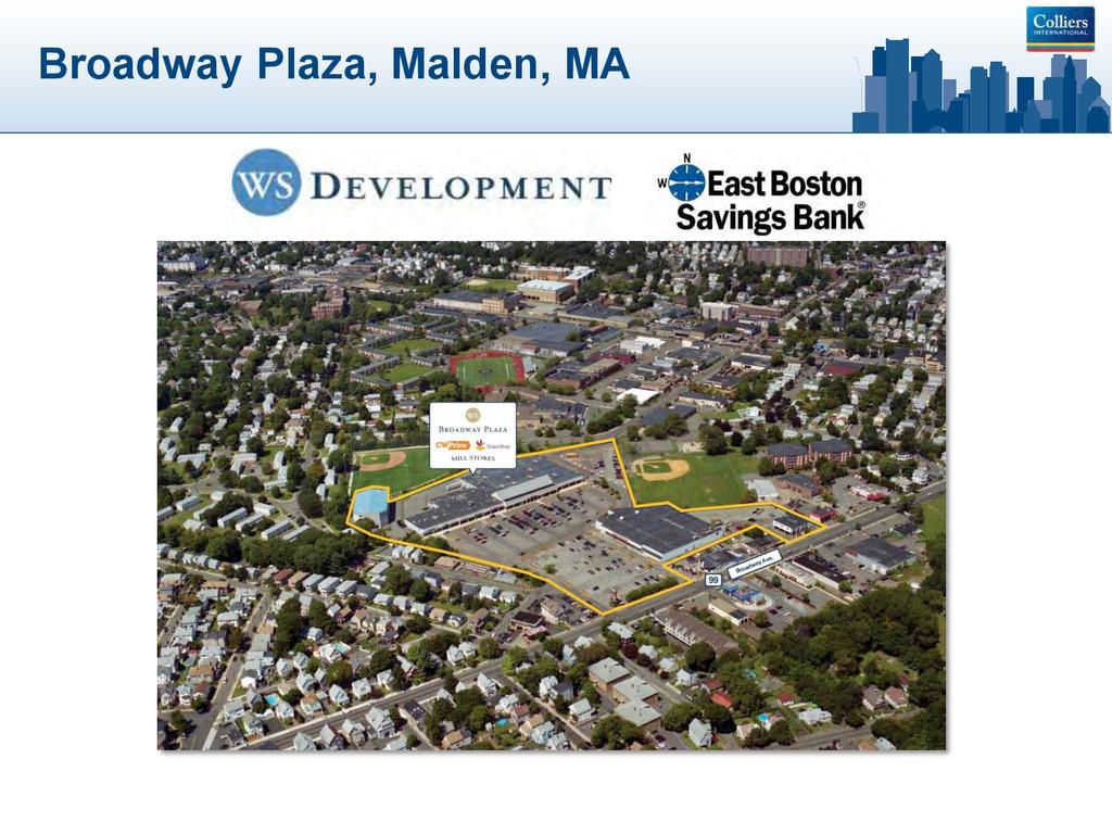Broadway Plaza, Malden, MA