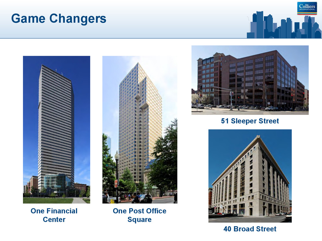 Game Changers One Post Office Square One Financ...
