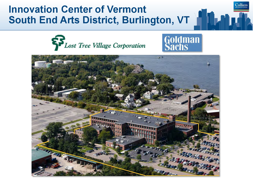 Innovation Center of Vermont South End Arts Dis...