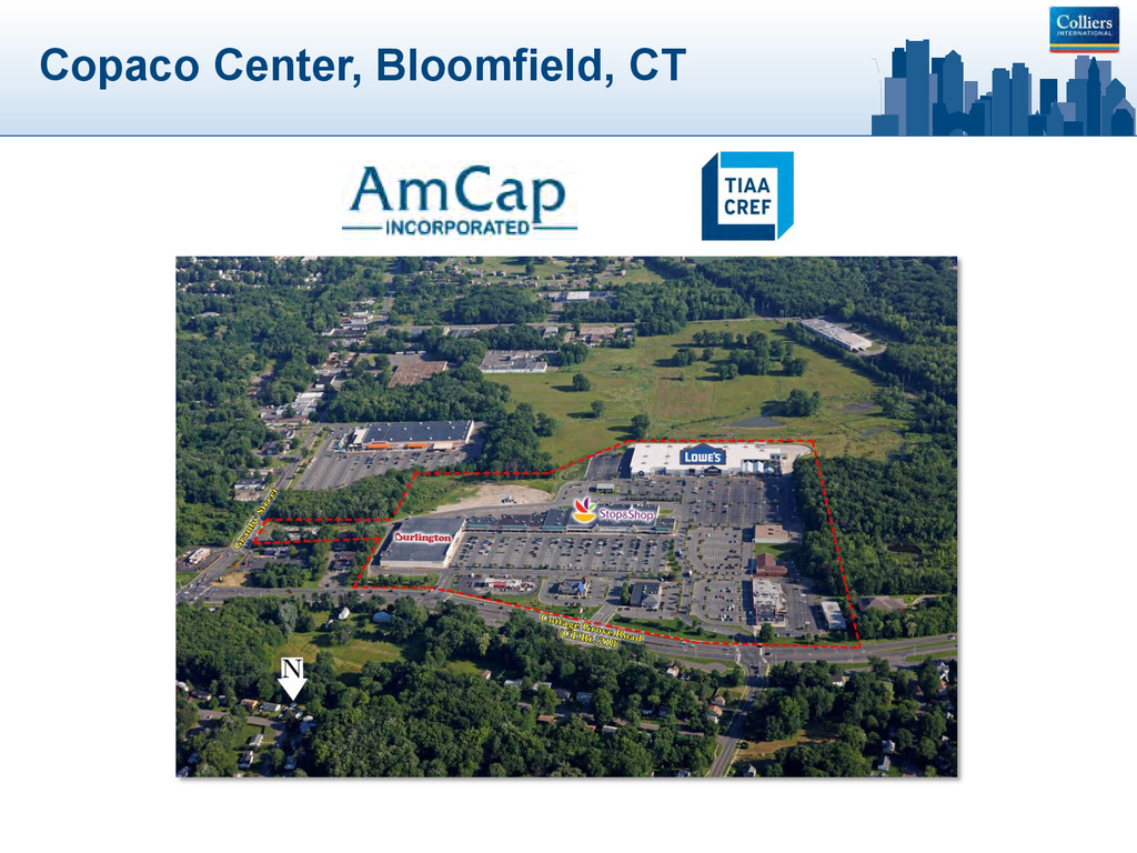 Copaco Center, Bloomfield, CT