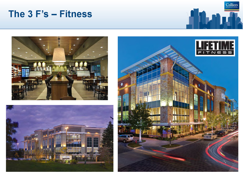 The 3 F's – Fitness