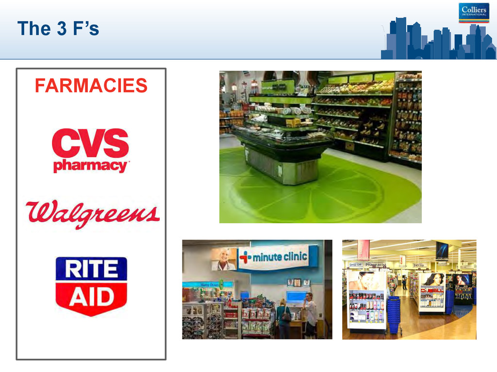 The 3 F's FARMACIES