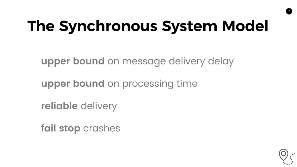 7 The Synchronous System Model upper bound on m...