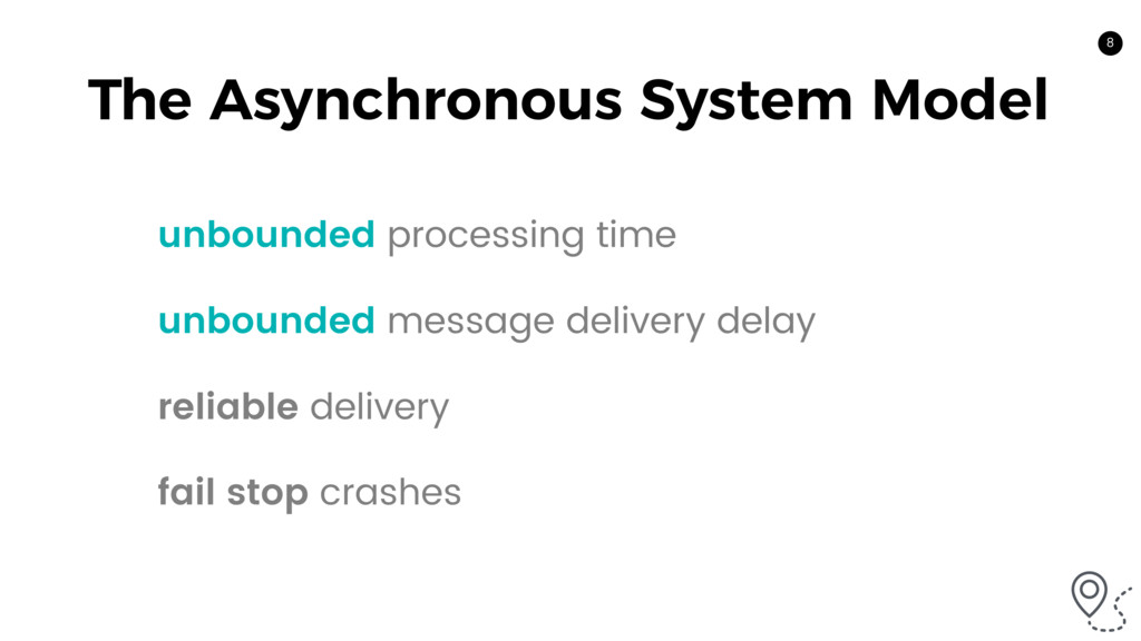 8 The Asynchronous System Model unbounded proce...
