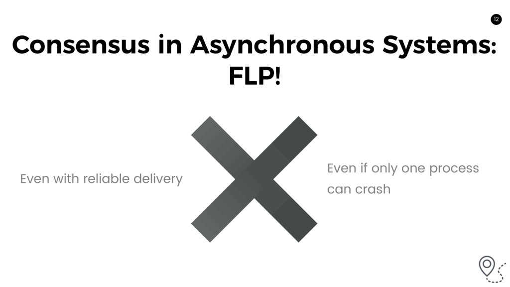 12 Consensus in Asynchronous Systems: FLP! Even...