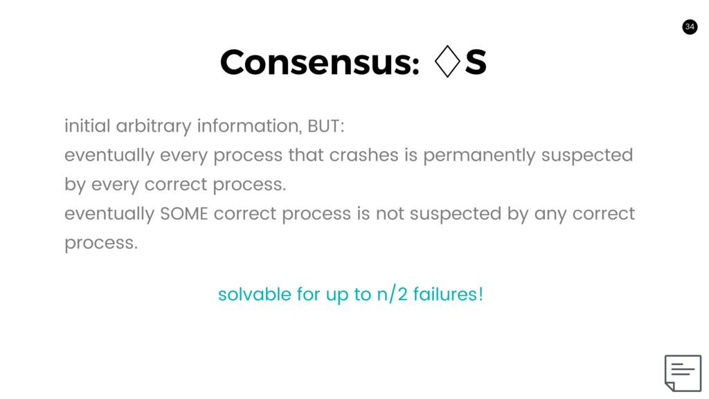 34 Consensus: ὓS 34 initial arbitrary informati...