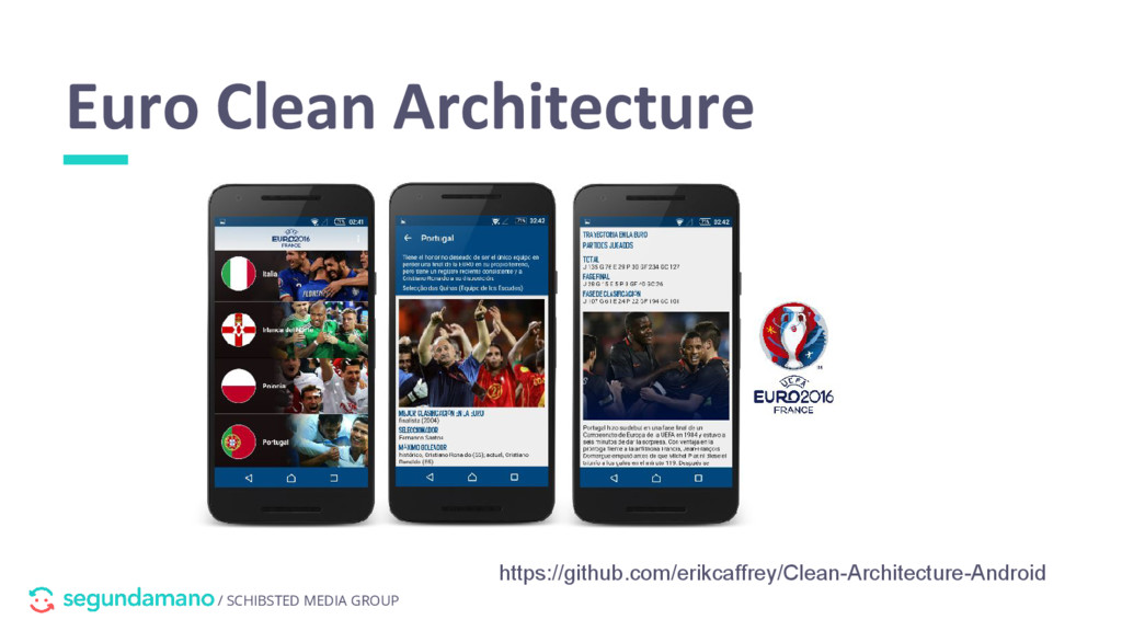 / SCHIBSTED MEDIA GROUP Euro Clean Architecture...