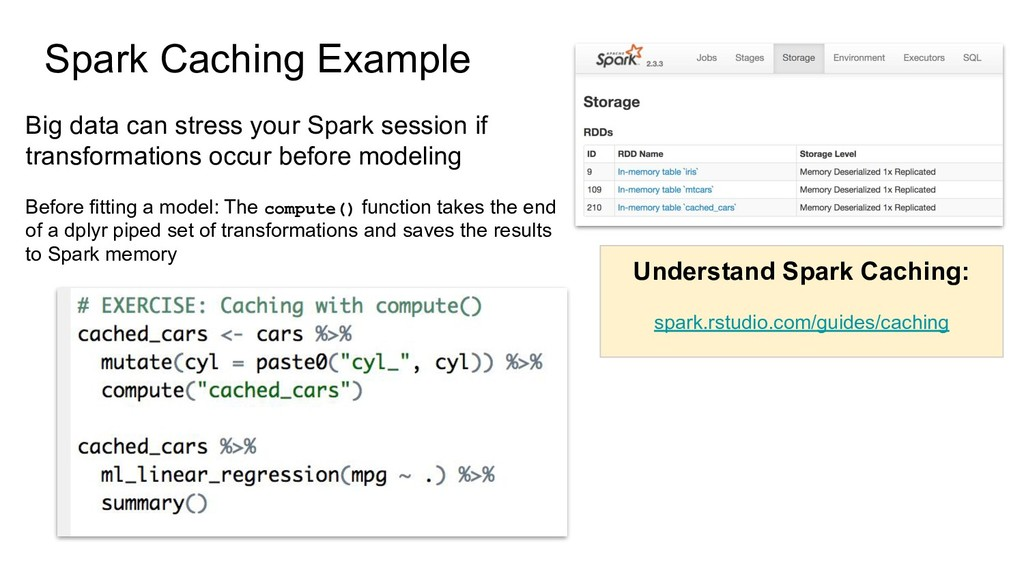 Spark Caching Example Big data can stress your ...