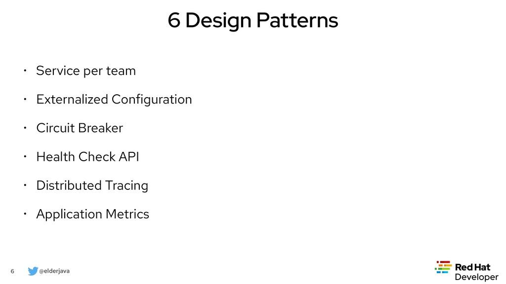@elderjava 6 6 Design Patterns • Service per te...