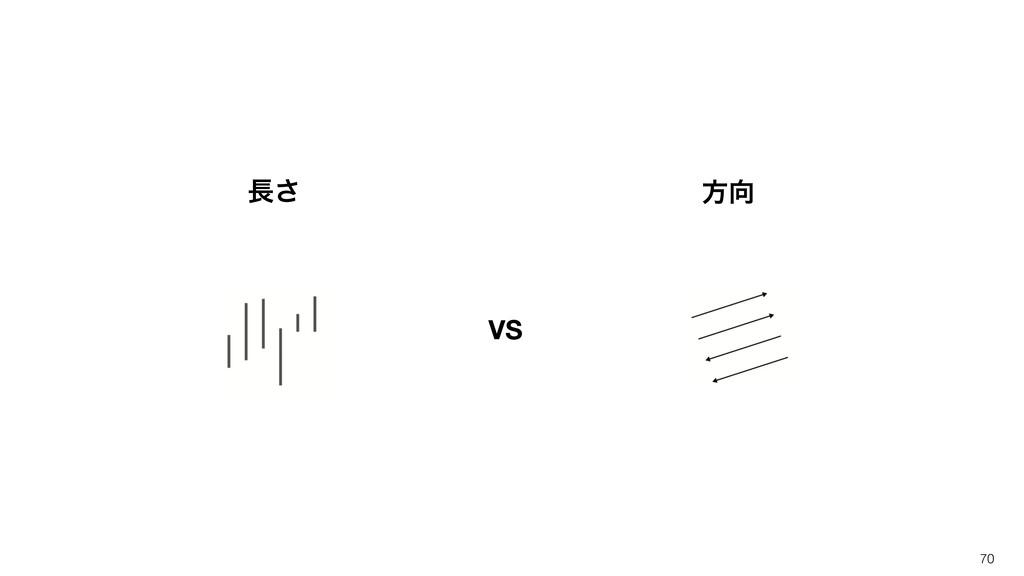 70 ͞ ํ VS