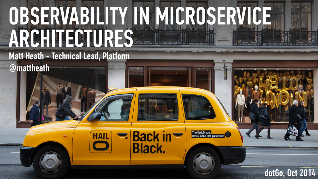 OBSERVABILITY IN MICROSERVICE ARCHITECTURES Mat...
