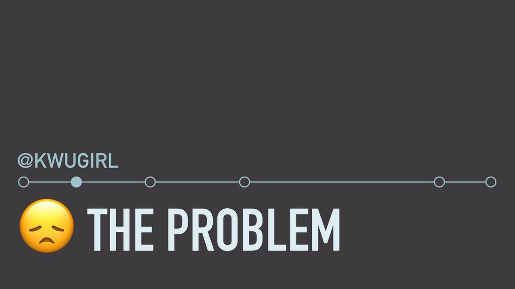 THE PROBLEM @KWUGIRL