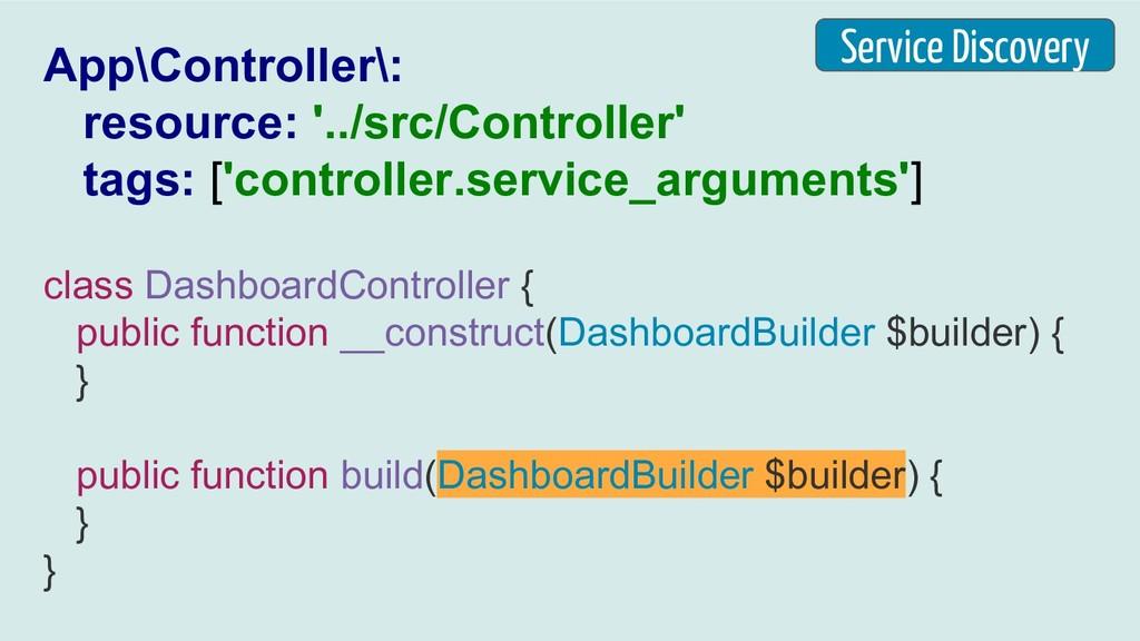 App\Controller\: resource: '../src/Controller' ...