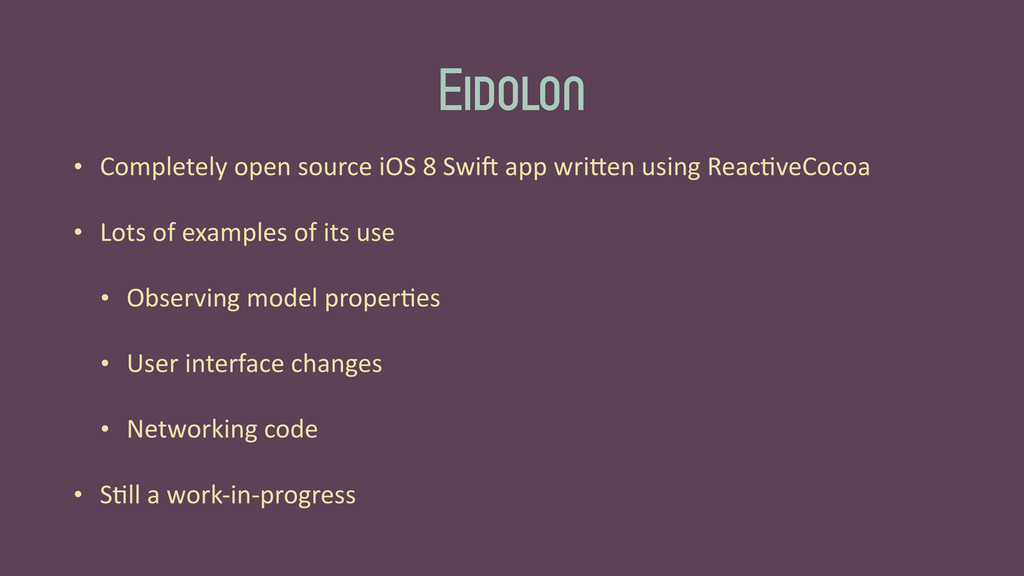 Eidolon • Completely	