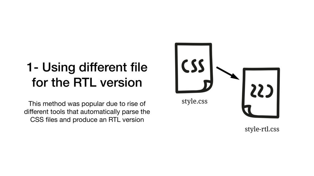 1- Using different file for the RTL version This...