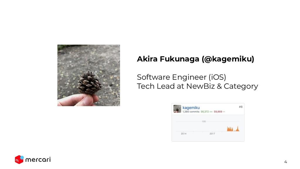 4 Akira Fukunaga (@kagemiku) Software Engineer ...