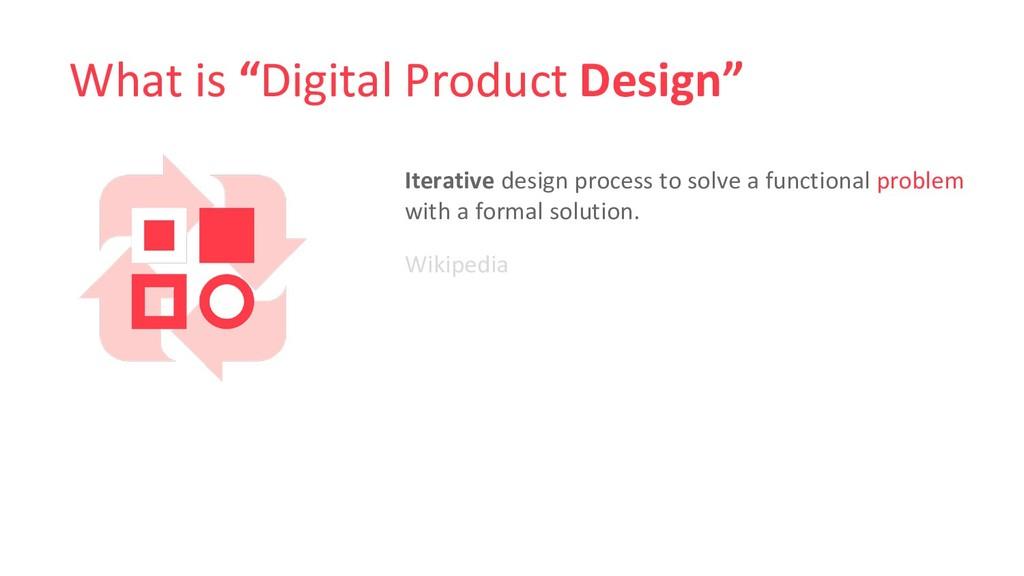 "What is ""Digital Product Design"" Ιterative desi..."