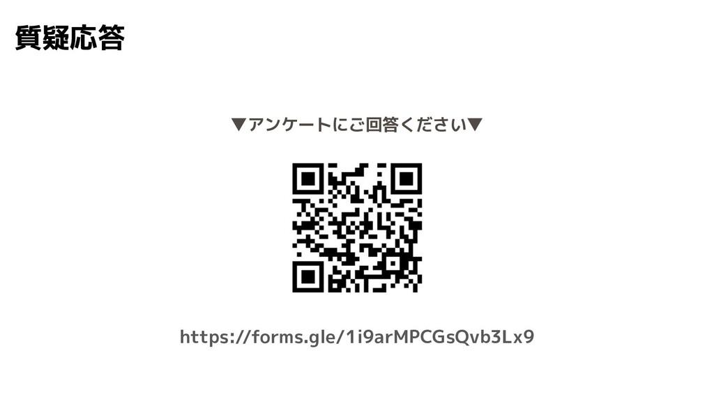 質疑応答 https://forms.gle/1i9arMPCGsQvb3Lx9 ▼アンケート...