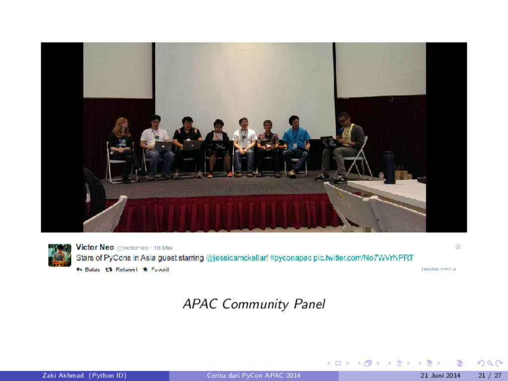 APAC Community Panel Zaki Akhmad (Python ID) Ce...