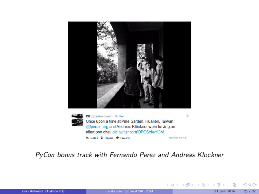 PyCon bonus track with Fernando Perez and Andre...