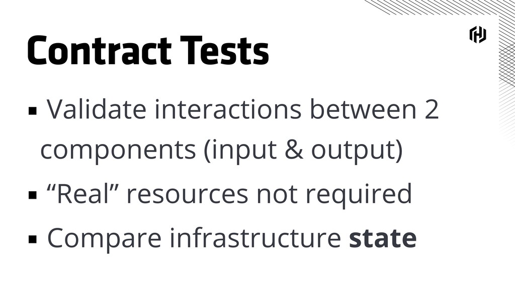 Contract Tests ▪ Validate interactions between ...