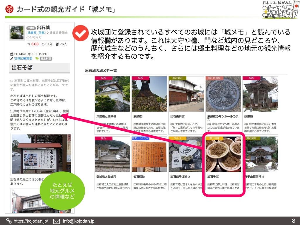 https://kojodan.jp/ info@kojodan.jp Χʔυࣜͷ؍ޫΨΠυʮ...