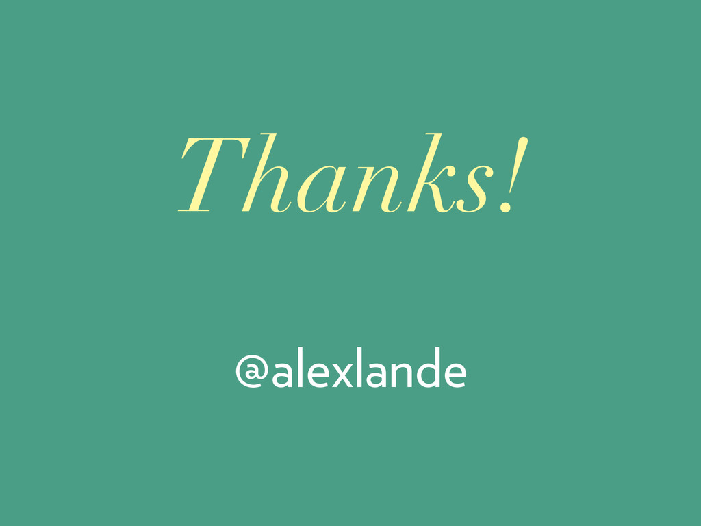 @alexlande Thanks!
