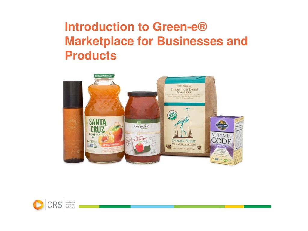 Introduction to Green-e® Marketplace for Busine...