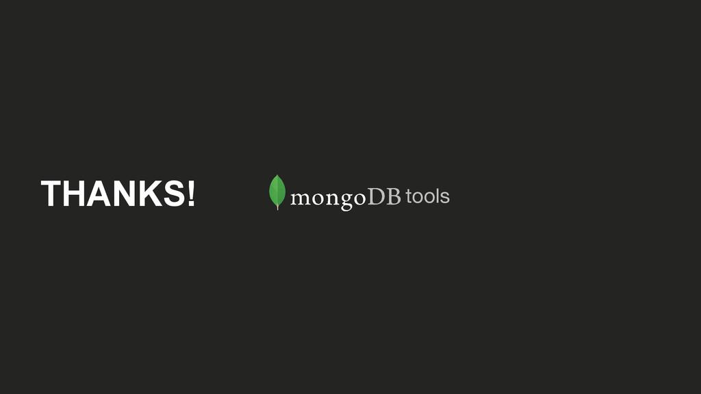 THANKS! tools