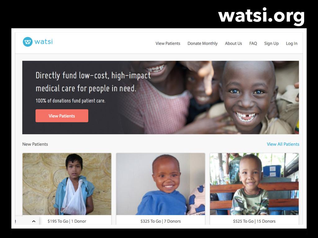 watsi.org