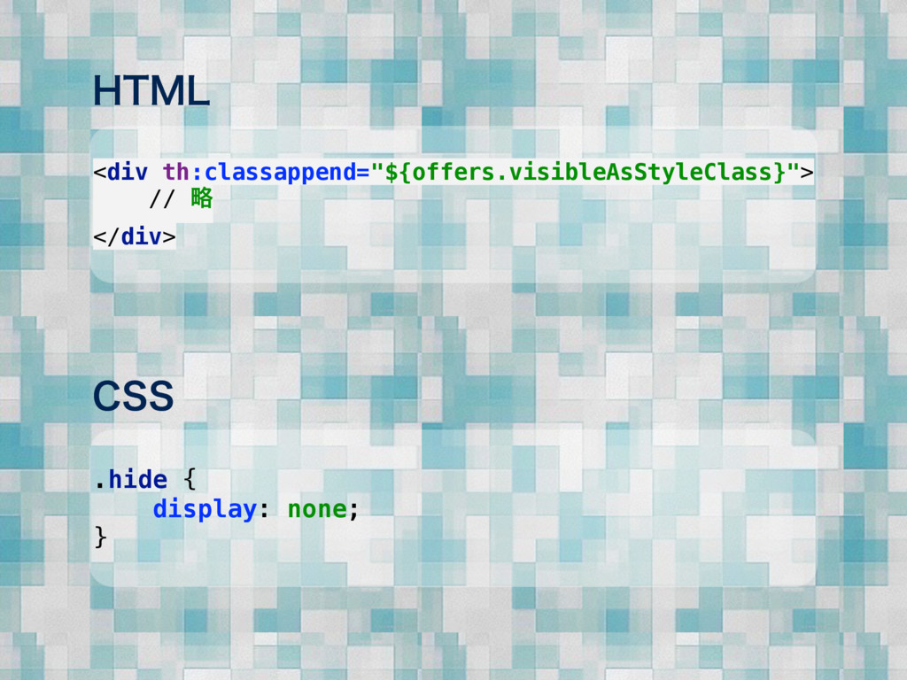 """)5.- <div th:classappend=""""${offers.visibleAsSty..."""