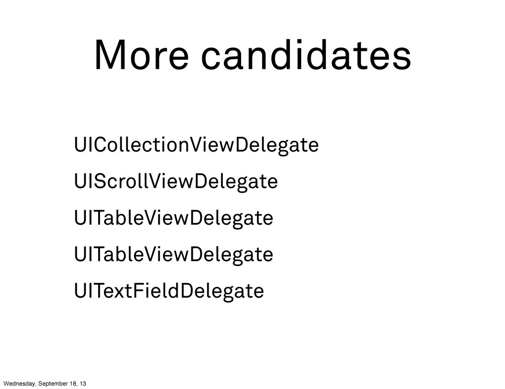 More candidates UICollectionViewDelegate UIScro...