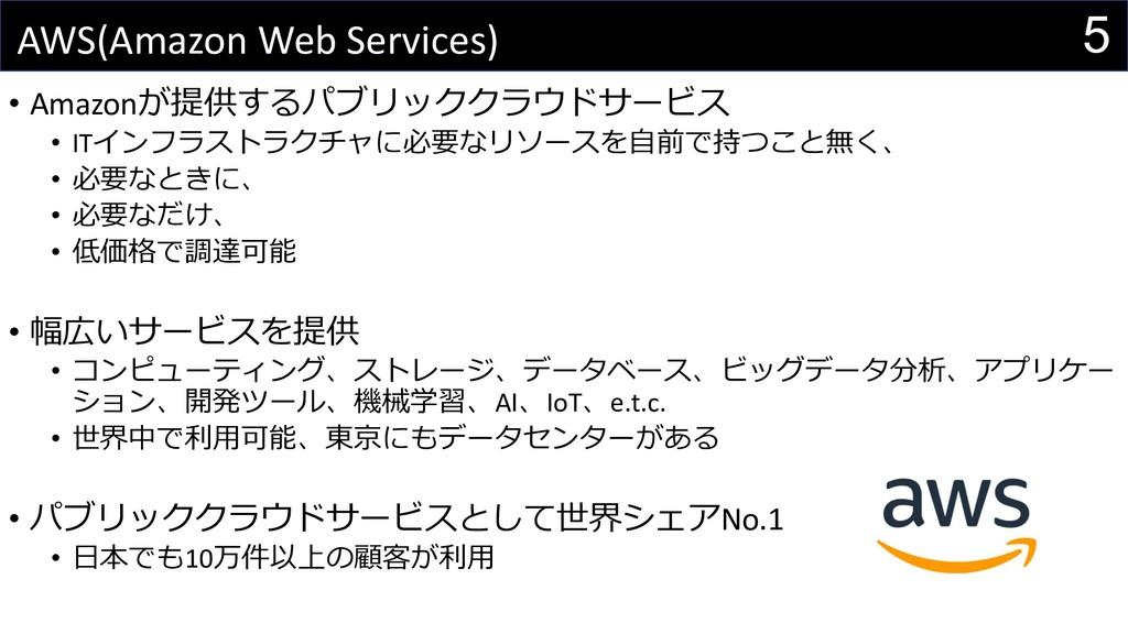 5 AWS(Amazon Web Services) • AmazonU^.29(8...