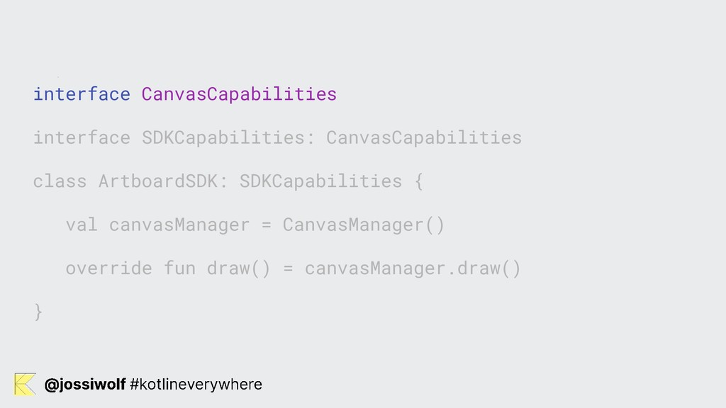 interface CanvasCapabilities interface SDKCapab...