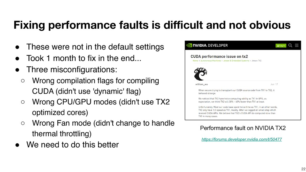 Fixing performance faults is difficult and not ...