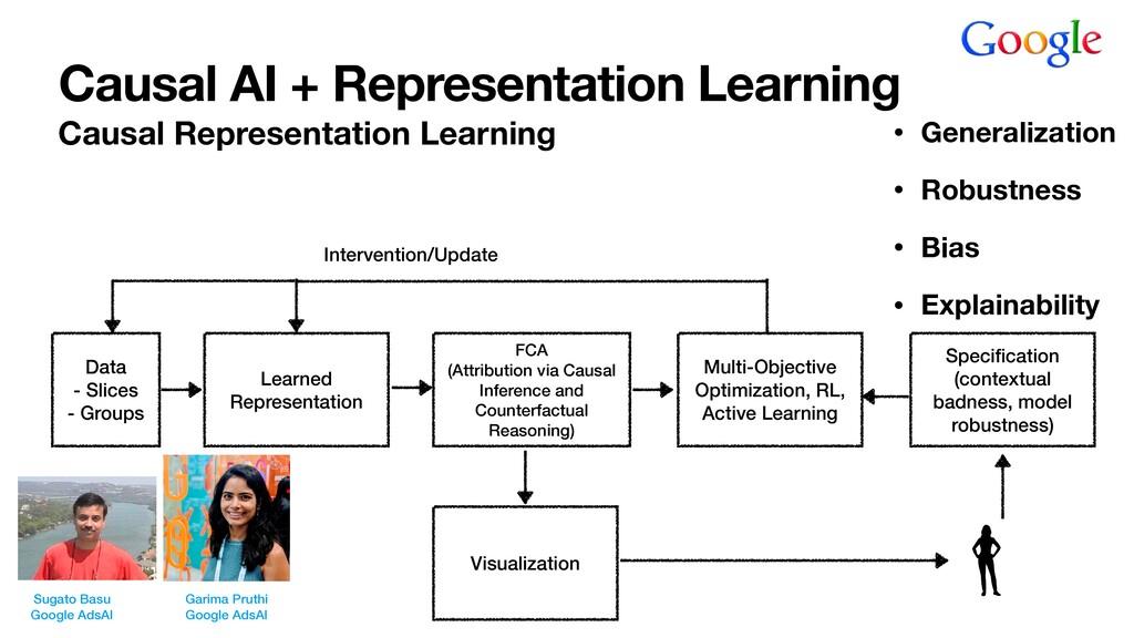 Causal AI + Representation Learning Causal Repr...