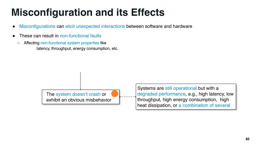 Misconfiguration and its Effects ● Misconfigura...