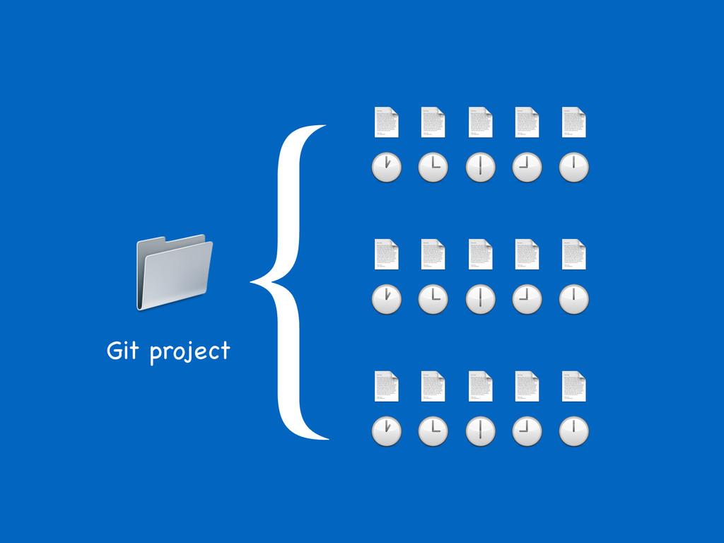 {                    Git project