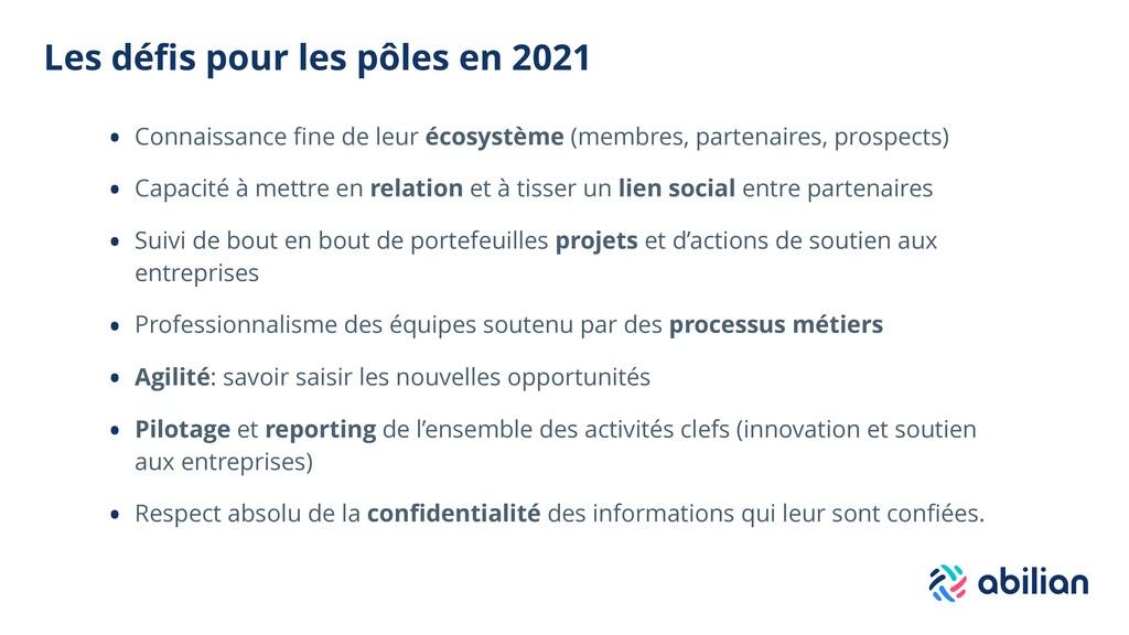 Les défis pour les pôles en 2021 • Connaissance ...