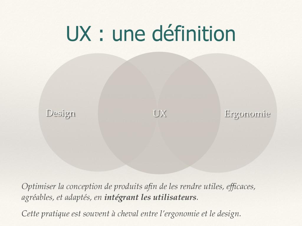 UX : une définition Optimiser la conception de ...