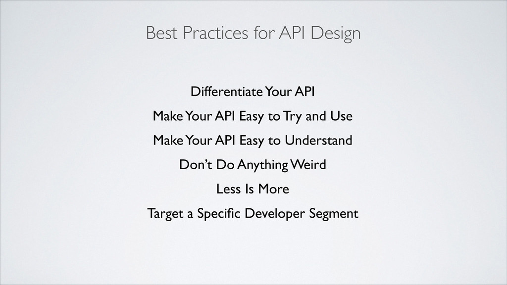 Best Practices for API Design Differentiate You...
