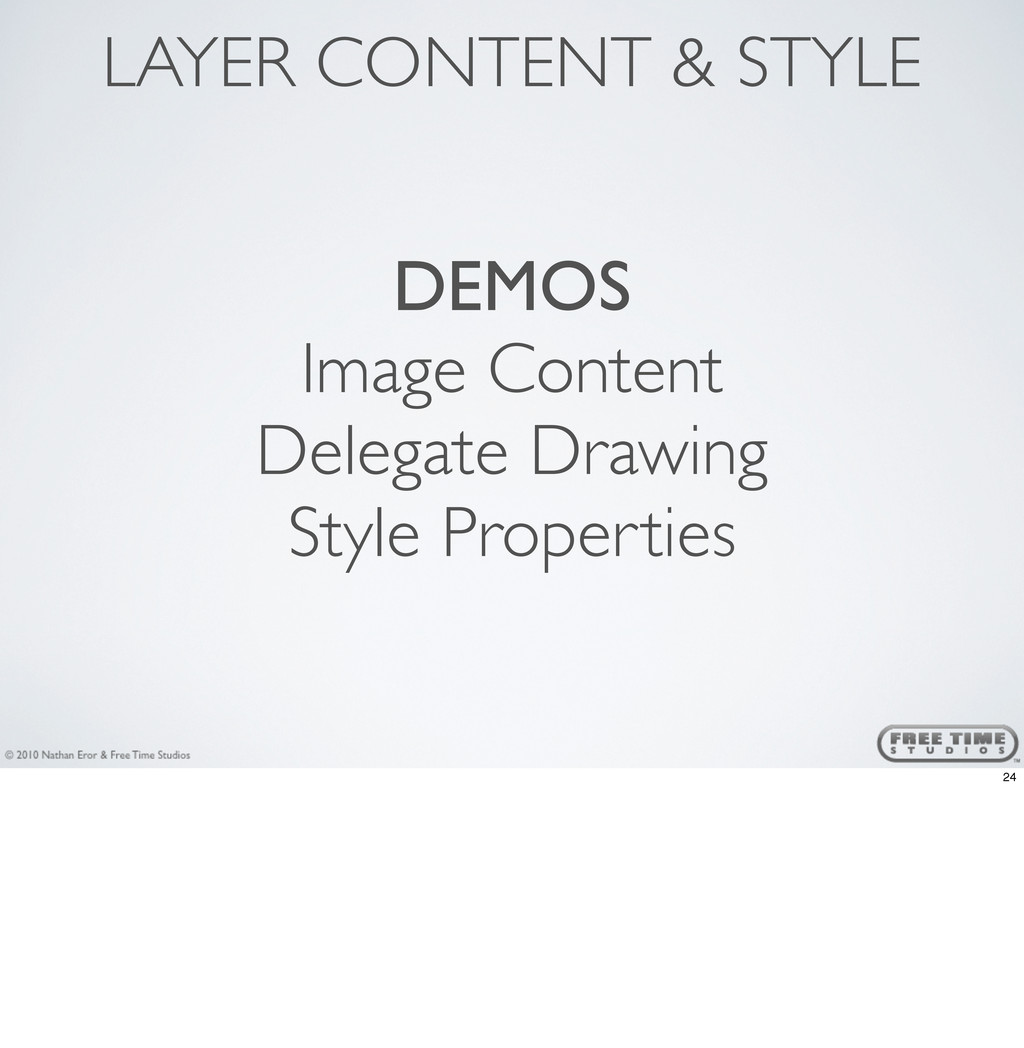 DEMOS Image Content Delegate Drawing Style Prop...