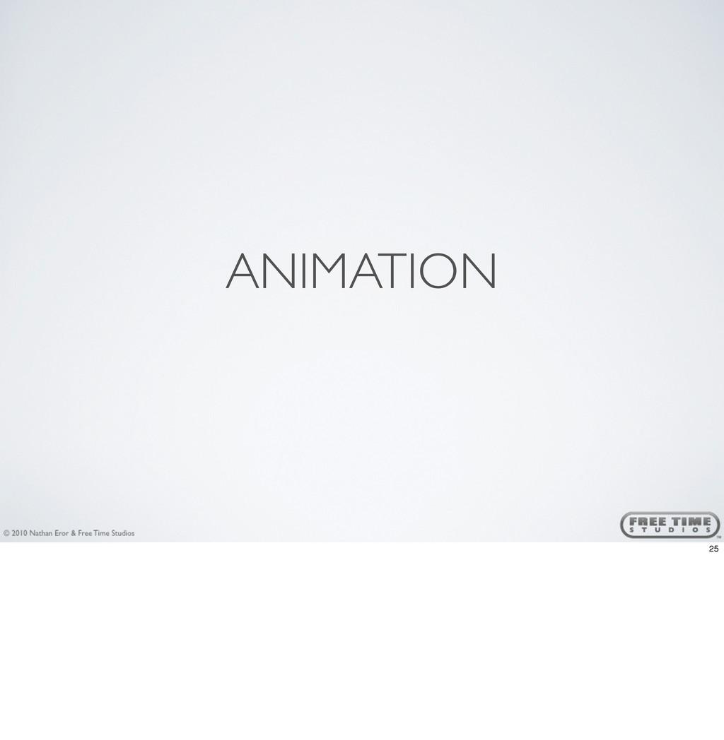 ANIMATION 25