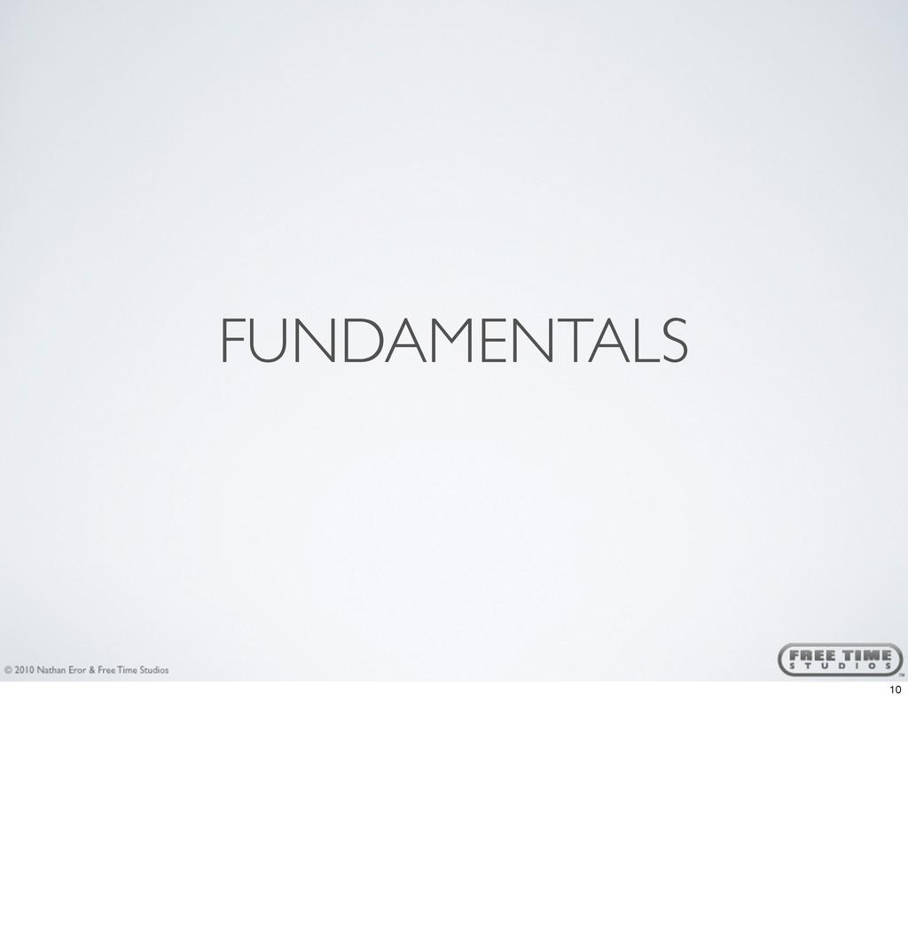 FUNDAMENTALS 10