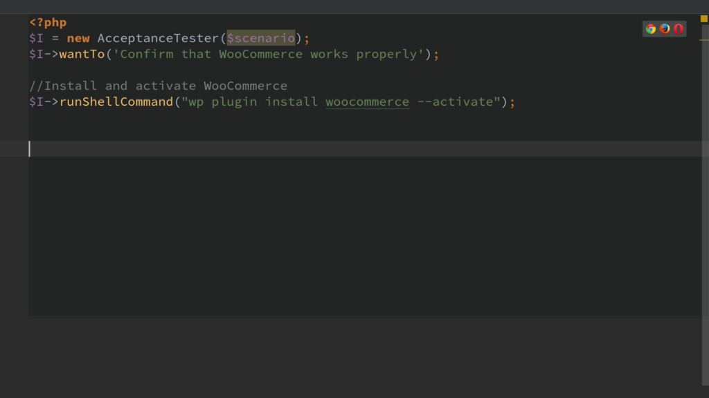 CODECEPTION – BOOTSTRAP