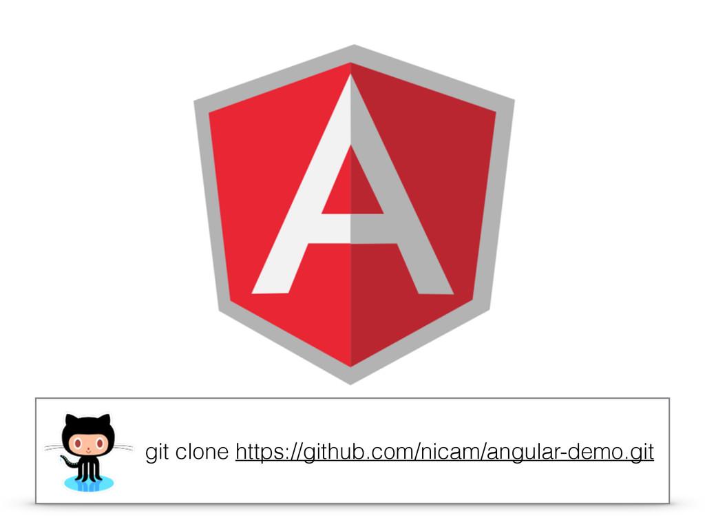 git clone https://github.com/nicam/angular-demo...