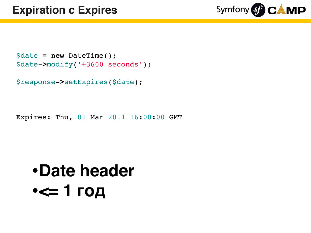 $date = new DateTime(); $date->modify('+3600 se...