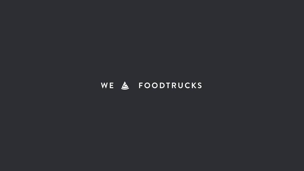 WE FOODTRUCKS