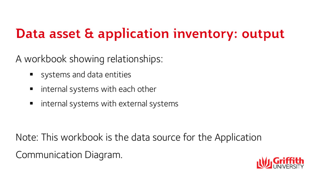 A workbook showing relationships:  systems and...
