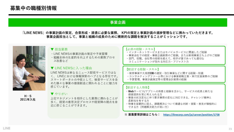N・S 2019年入社 AI・パーソナライズ領域 / 企画・ディレクター 【必須の経験・スキル...
